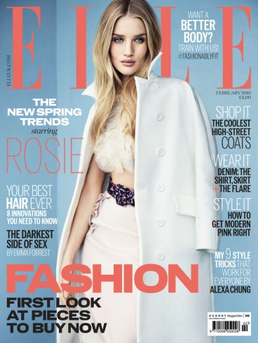 Elle UK - February 2015 free download