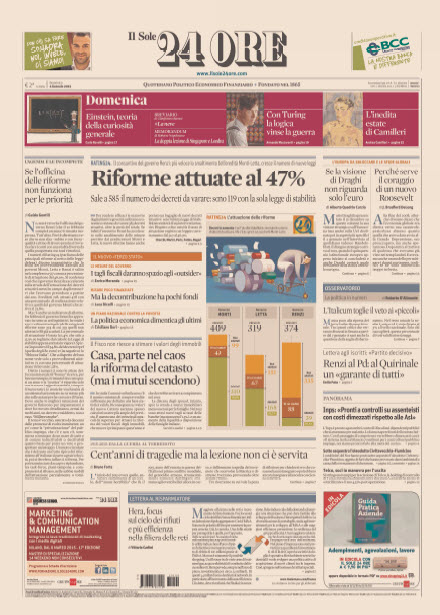 Il Sole 24 Ore - 04.01.2015 free download