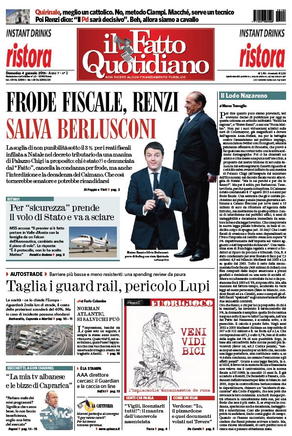 Il Fatto Quotidiano (04-01-15) free download
