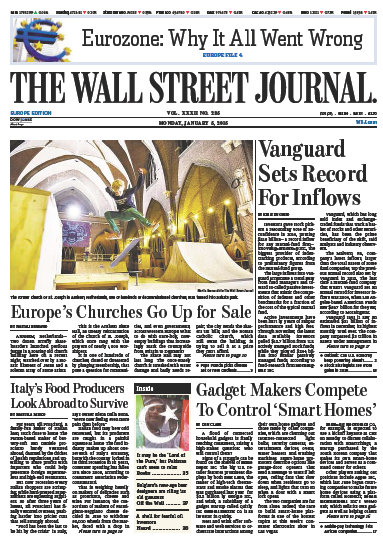 Wallstreet Journal Europe 5 January 2015 free download