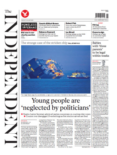 The Independent January 05 2015 free download