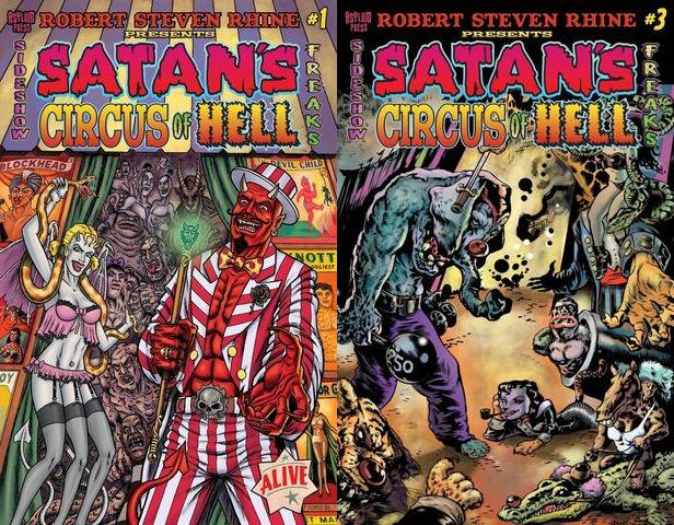 Satan's Circus of Hell #1-3 (2012) Complete free download