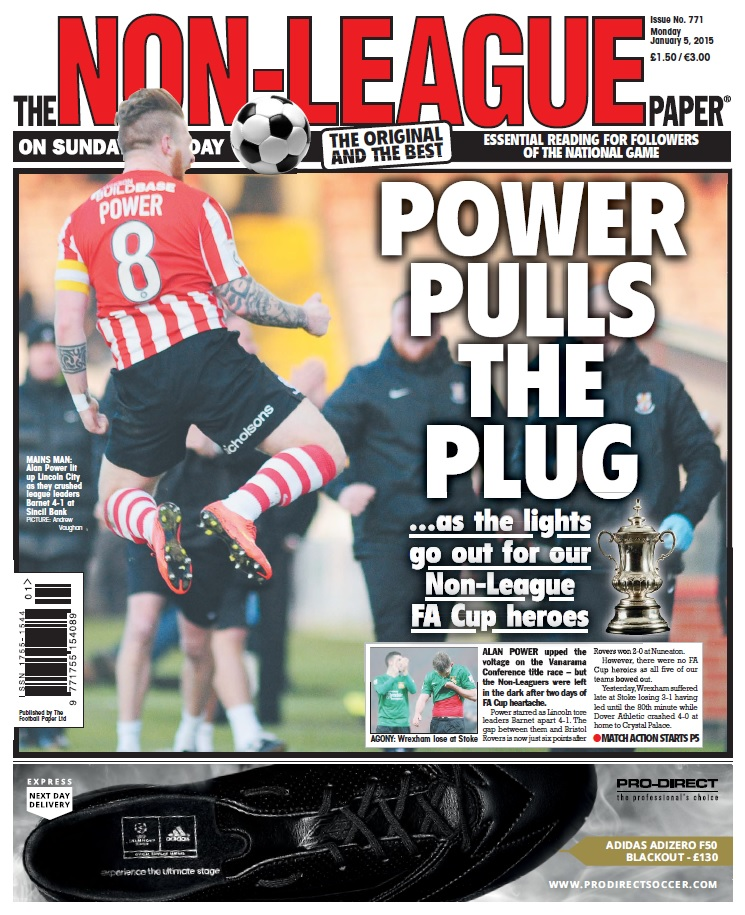 The Non-League Paper - 5 January 2015 free download