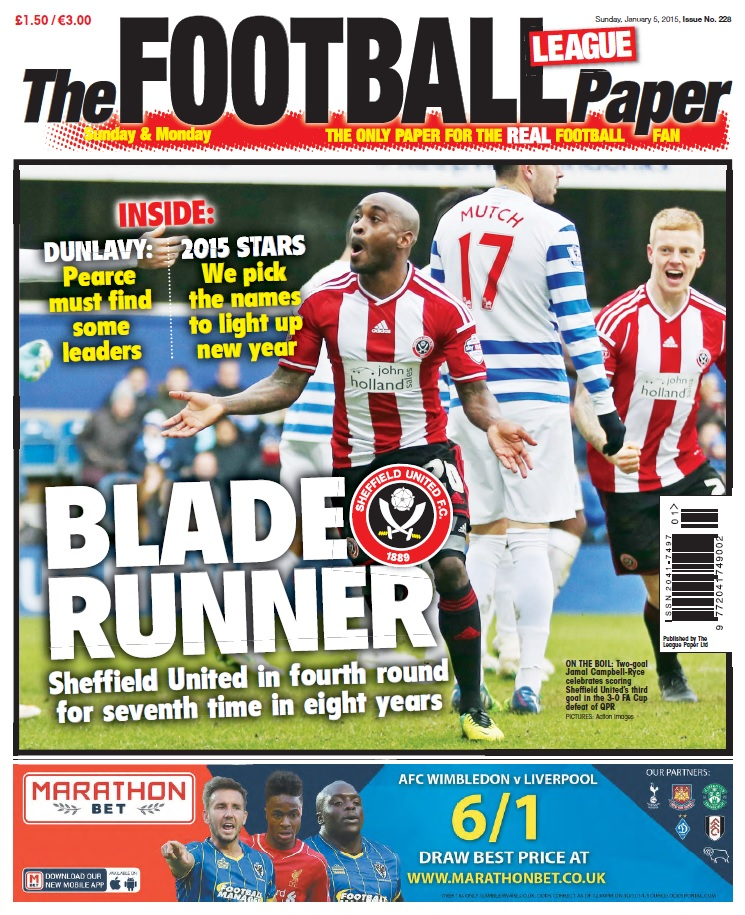 The Football League Paper - 5 January 2015 free download