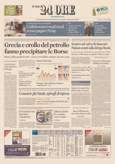 Il Sole 24 Ore - 06.01.2015 free download