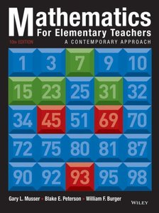 Mathematics for Elementary Teachers: A Contemporary Approach (10th Edition) free download