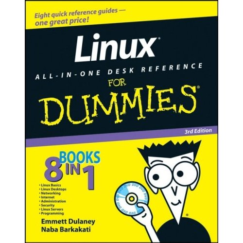 Linux All-in-One Desk Reference For Dummies free download