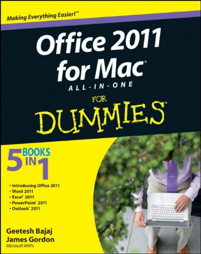 Office 2011 for Mac All-in-One For Dummies free download