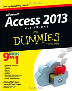 Access 2013 All-in-One For Dummies free download