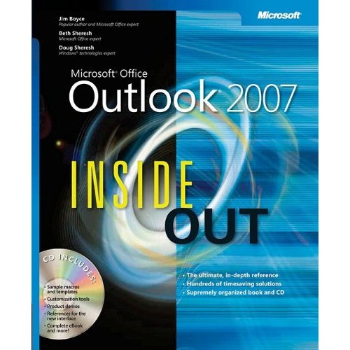 Microsoft Office Outlook 2007 Inside Out free download