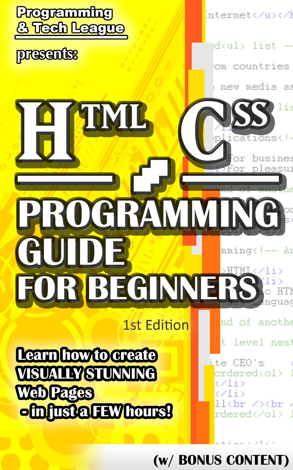 HTML CSS Programming Guide For Beginners: Learn how to create Visually Stunning Web Pages free download