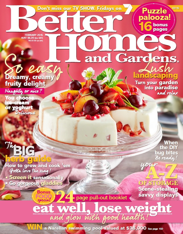 Better homes and gardens australia february 2015 free Better homes and gardens website australia
