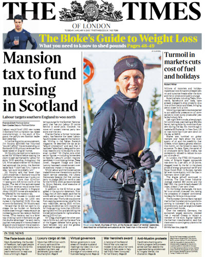 The London Times January 06 2015 free download