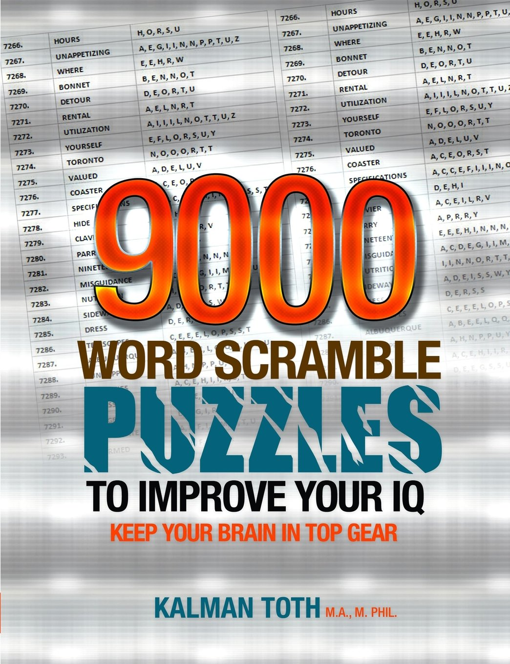 9000 Word Scramble Puzzles to Improve Your IQ free download