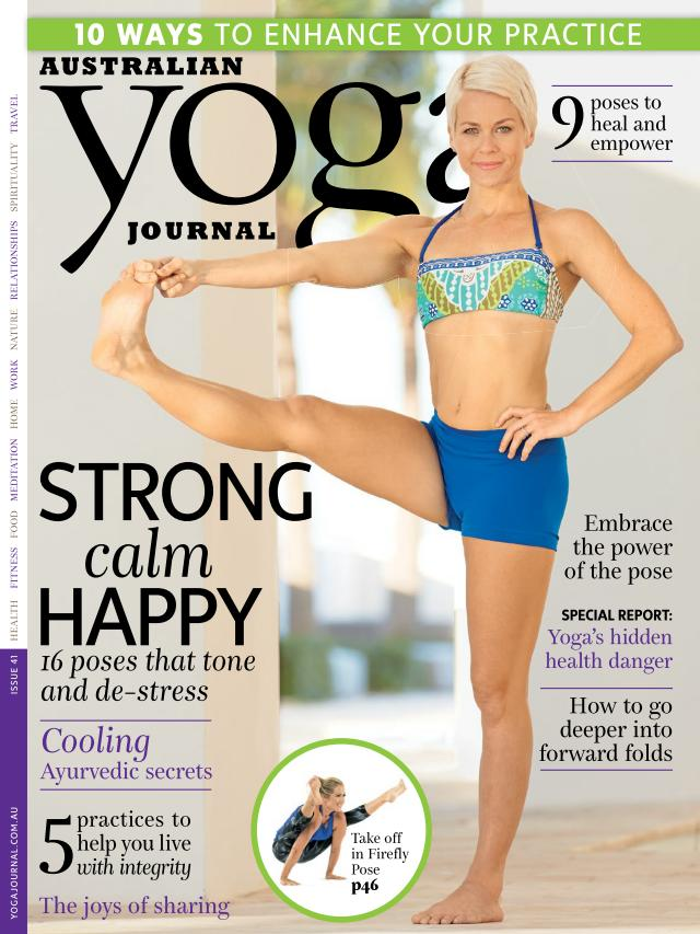 Australian Yoga Journal - February-March 2015 free download
