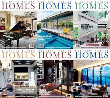 Malaysia Tatler Homes Magazine 2014 Full Collection free download