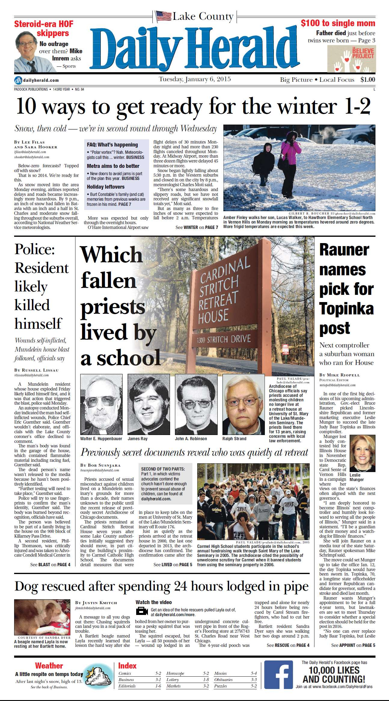 Daily Herald  January 06 2015 free download