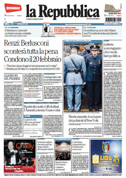 La Repubblica - 07.01.2015 free download