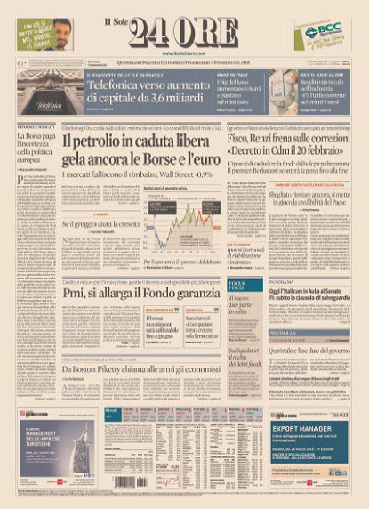 Il Sole 24 Ore - 07.01.2015 free download