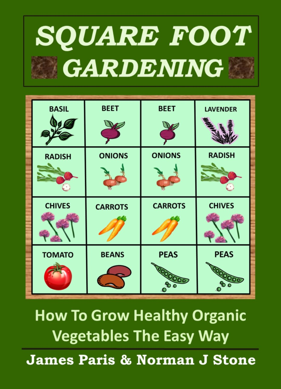 Square Foot Gardening: How To Grow Healthy Organic Vegetables The Easy Way free download