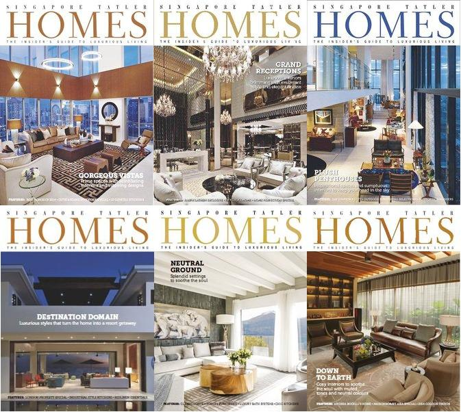 Singapore Tatler Homes Magazine 2014 Full Collection free download