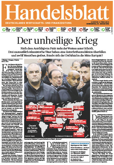 Handelsblatt vom 08 Januar 2015 free download