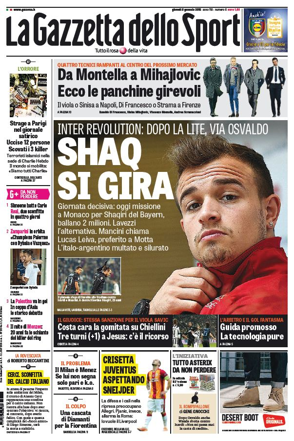 La Gazzetta dello Sport (08-01-15) free download