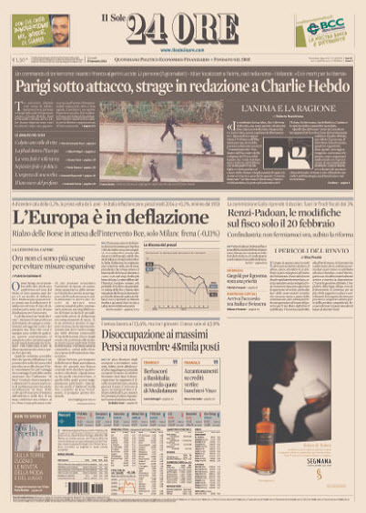 Il Sole 24 Ore - 08.01.2015 free download