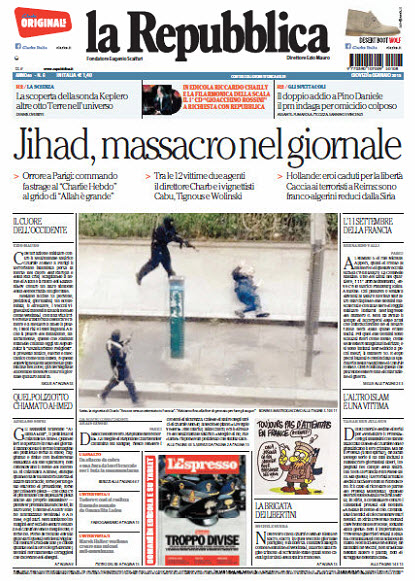 La Repubblica - 08.01.2015 free download