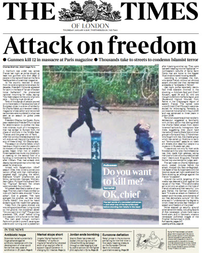 The London Times January 08 2015 free download