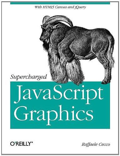 Supercharged javascript Graphics: with HTML5 canvas, jQuery, and More free download