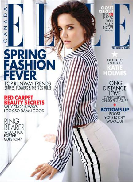 Elle Canada from February 2015 free download