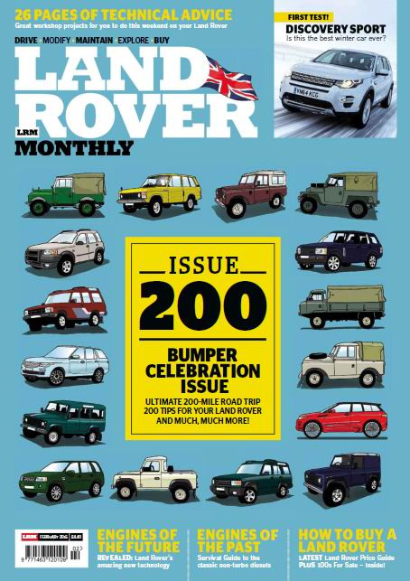 Land Rover Monthly - February 2015 free download