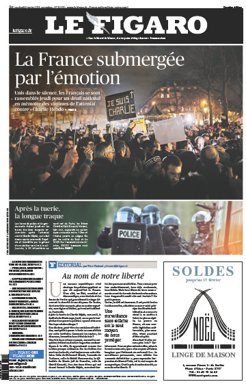 Le Figaro du 09 Janvier 2015 free download