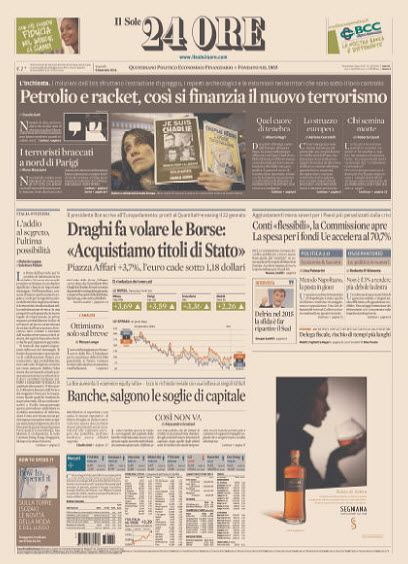 Il Sole 24 Ore - 09.01.2015 free download