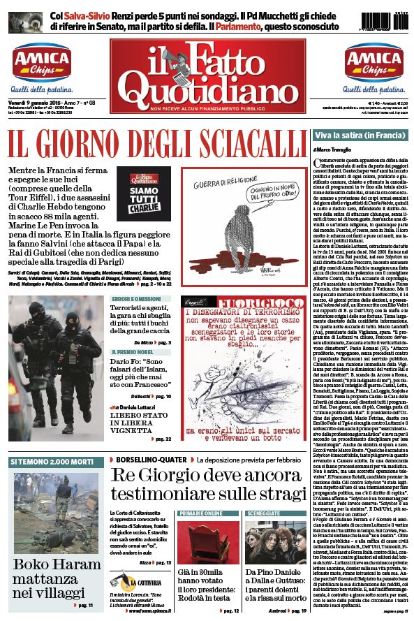 Il Fatto Quotidiano (09-01-15) free download