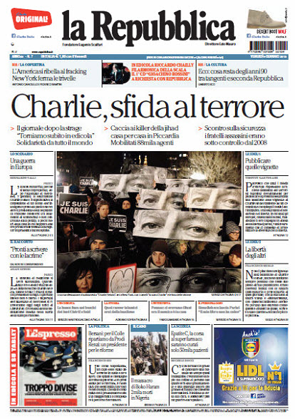 La Repubblica - 09.01.2015 free download