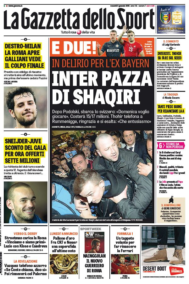 La Gazzetta dello Sport (09-01-15) free download
