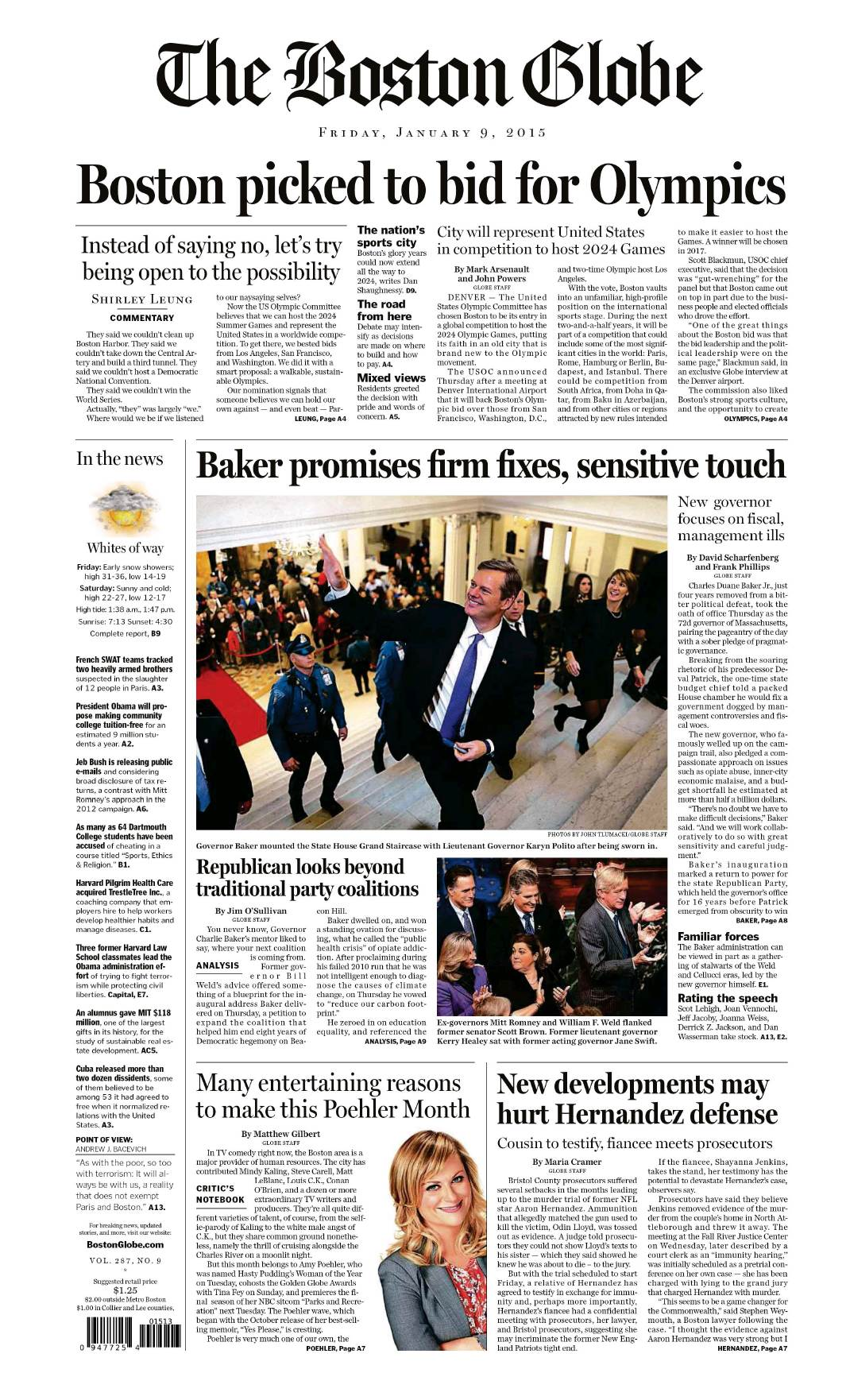 The Boston Globe  January 09 2015 free download