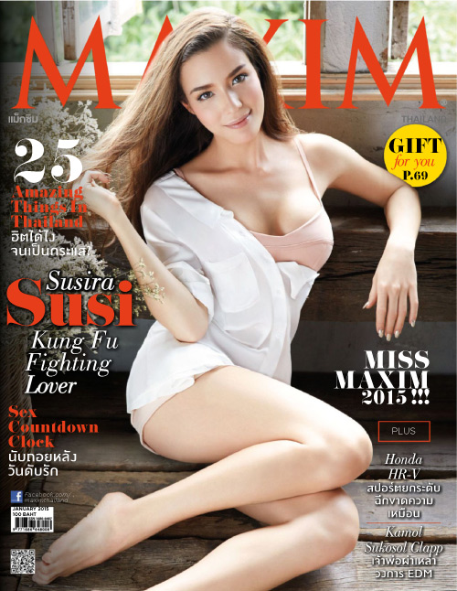 Maxim Thailand - January 2015 free download