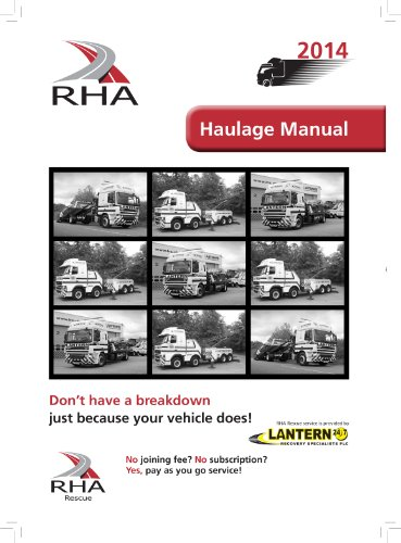 The Road Haulage Manual 2014 free download