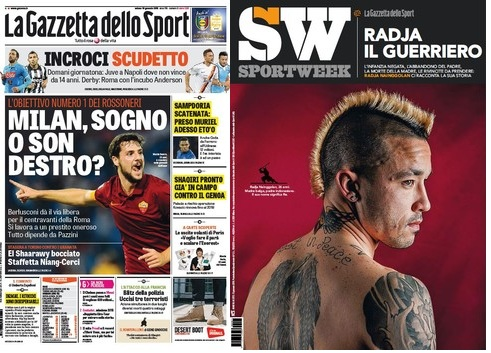 La Gazzetta dello Sport (10-01-15) + SportWeek free download
