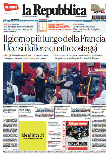 La Repubblica - 10.01.2015 free download
