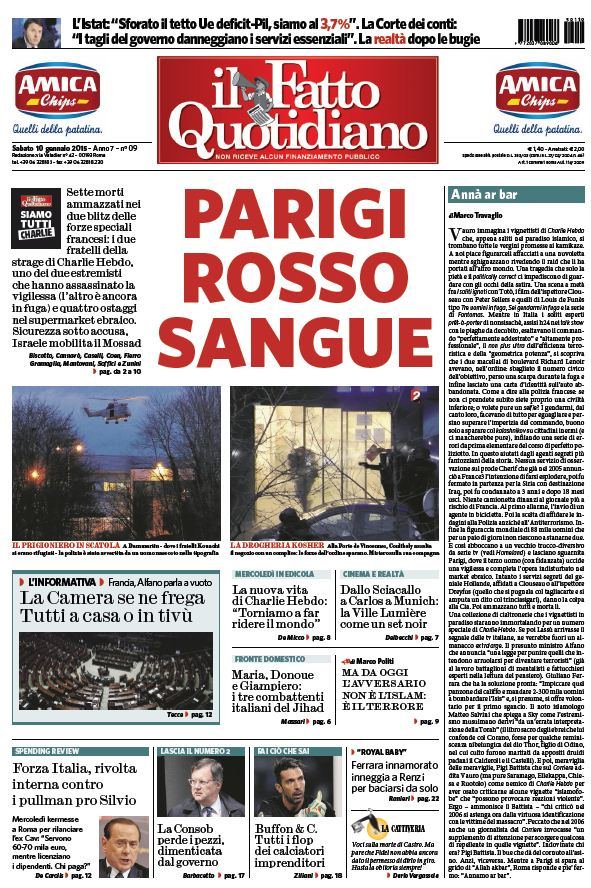 Il Fatto Quotidiano (10-01-15) free download