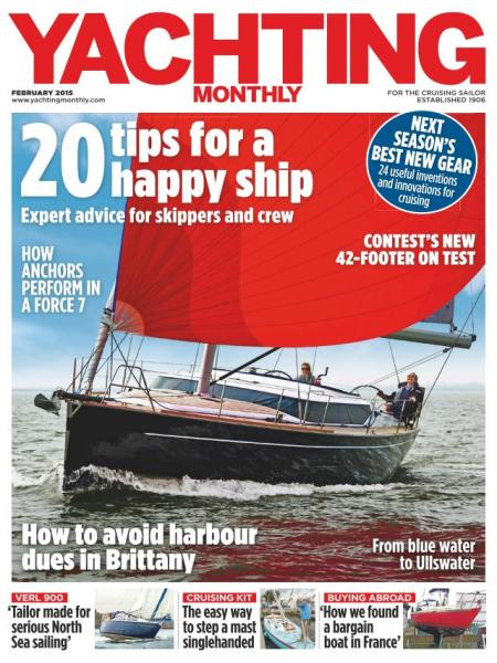 Yachting Monthly - February 2015 download dree