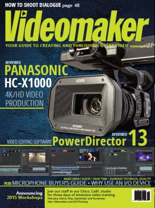 Videomaker - February 2015 free download