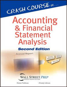 Crash Course in Accounting and Financial Statement Analysis free download