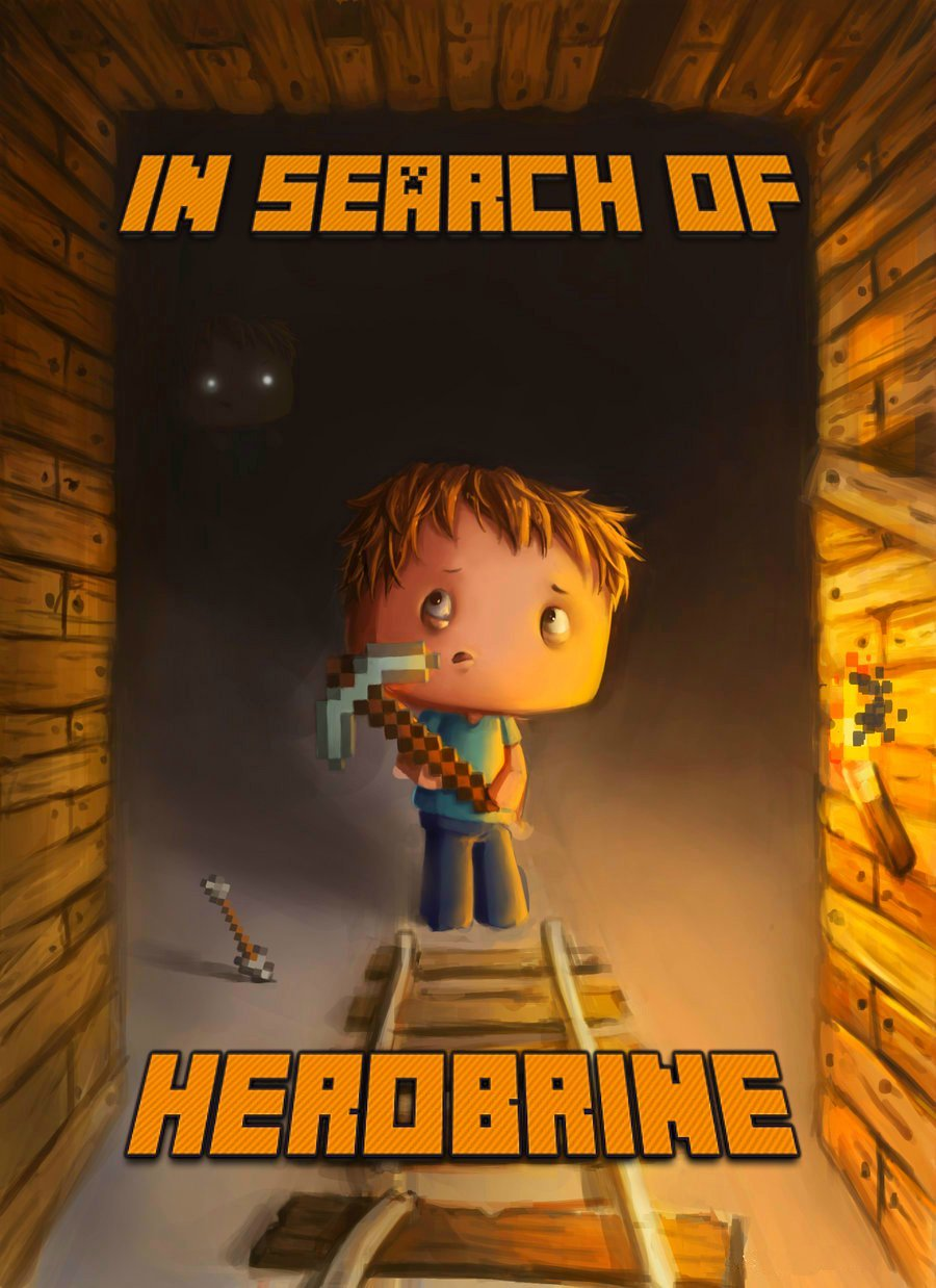 In Search of Herobrine: A Famous Novel About Minecraft free download