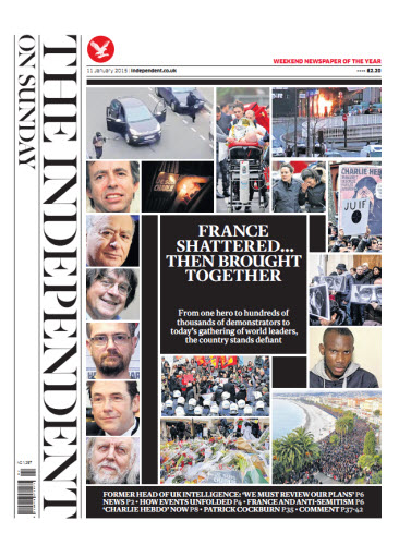 The Independent January 11 2015 free download
