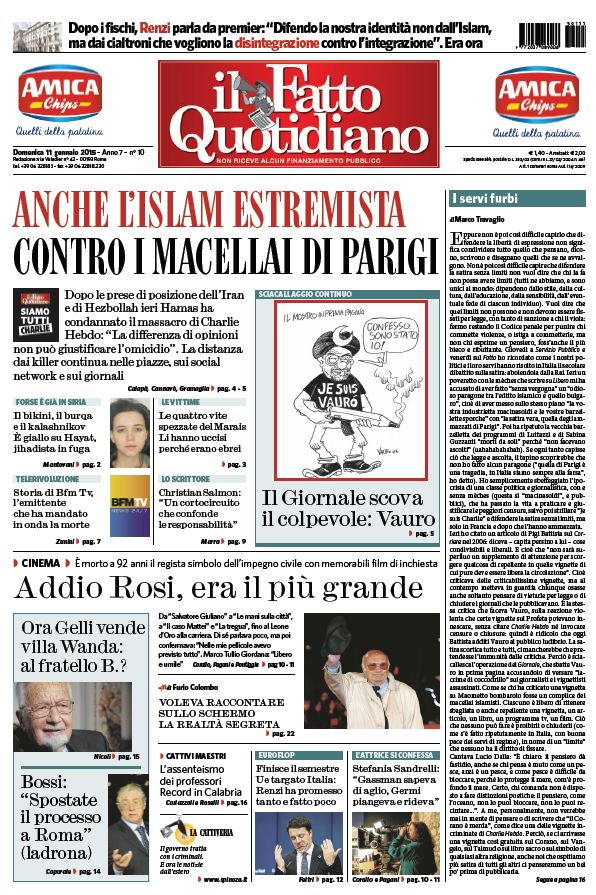 Il Fatto Quotidiano (11-01-15) free download